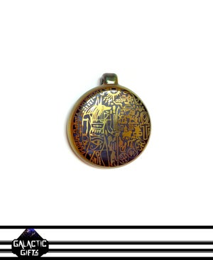 Image of Masataka Joei Egyptian God Anubis Sacred Gold Medallion 2