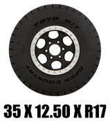 Image of Toyo Off Road Racing Tire - 35x12.50 R17