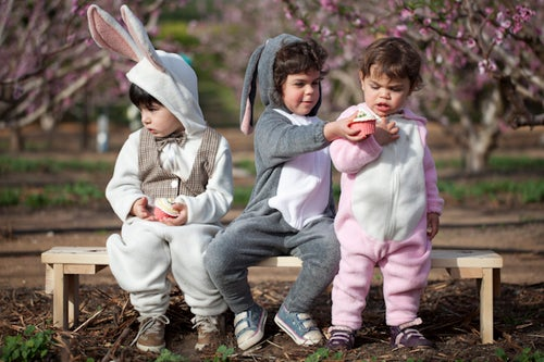 Image of Gray Bunny Costume  תחפושת ארנב אפור