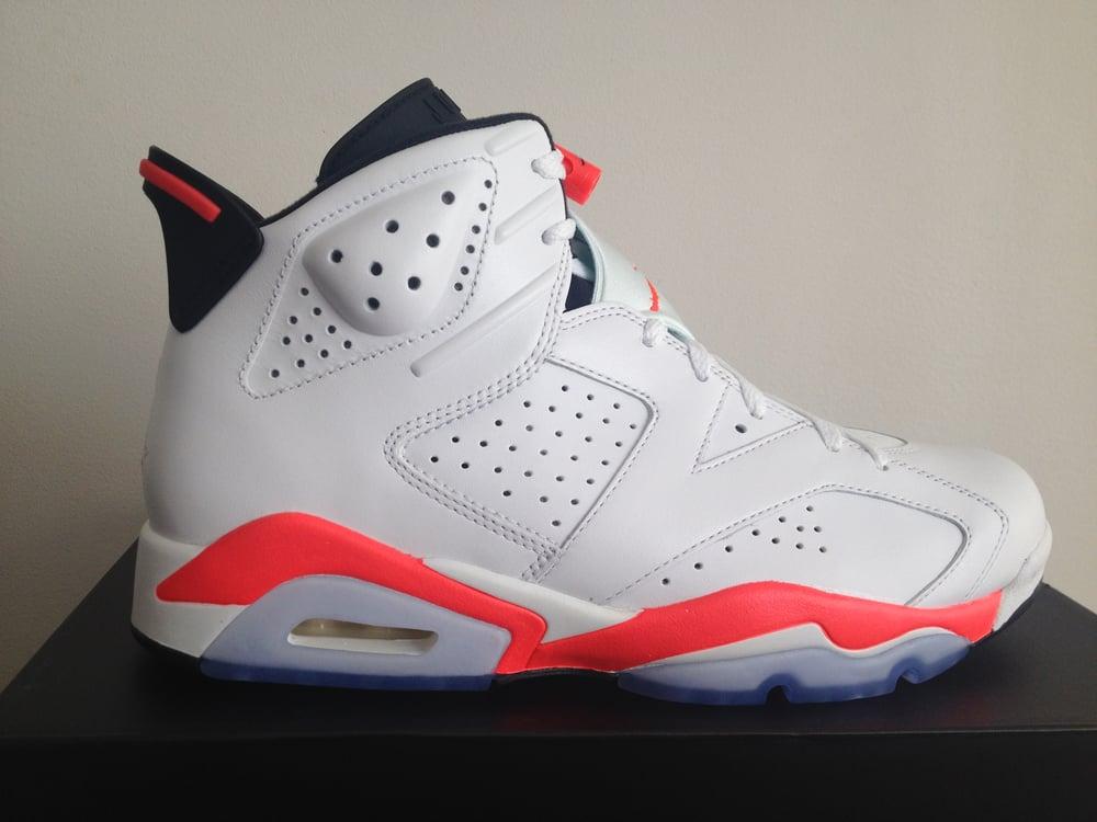 save off dacfb 46124 Jordan 6 White Infrared 2014