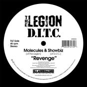 "Image of Revenge 7"" (white vinyl, limited edition of 100 copies)"