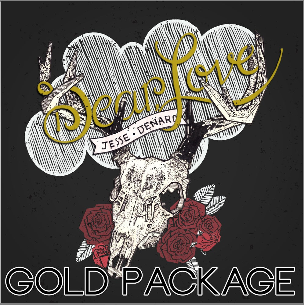 "Image of ""Dear, Love"" Gold Package"