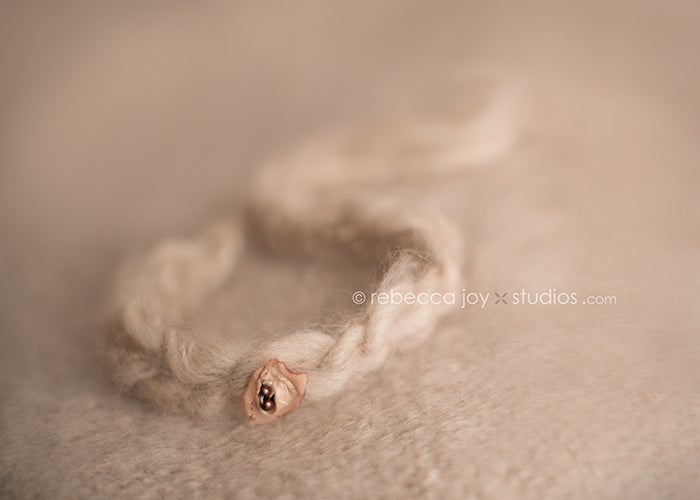 Image of {Organics Collection} Raw Silk Bloom Headband