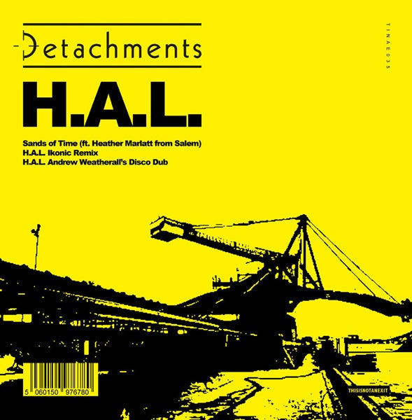 Image of Detachments - H.A.L. Limited Screen Printed 12""