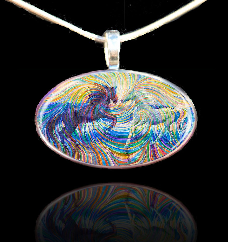 Image of Equus - Yin and Yang Energy Pendant