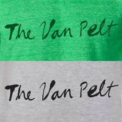 "Image of ""The Van Pelt"" T-Shirt"