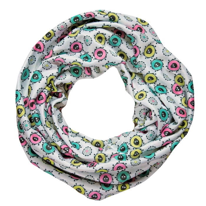 Image of Candy Skull Infinity Scarf