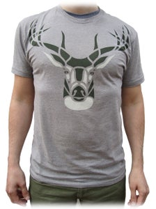Image of White Tailin' It - Dark Heather Gray