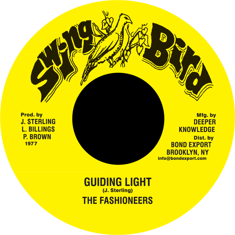 "Image of Fashioneers - Guiding Light 7"" (Swing Bird)"
