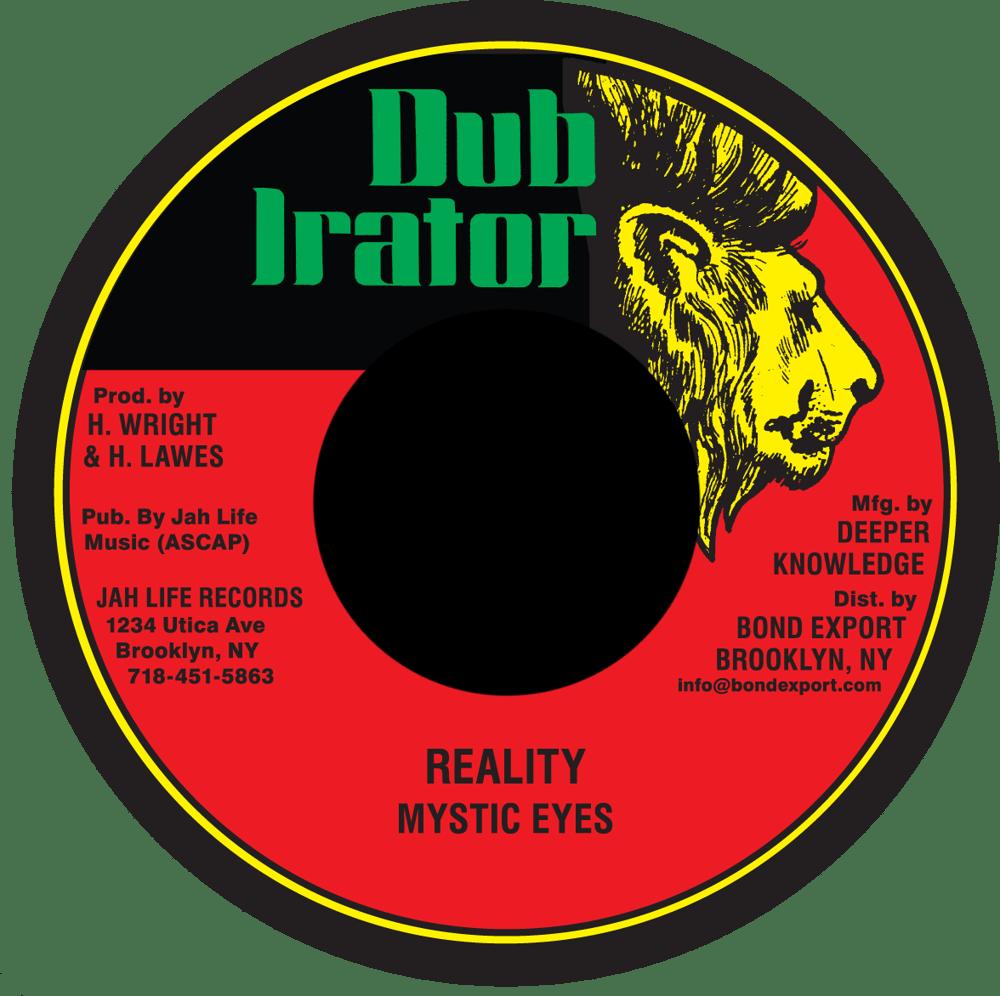 """Image of Mystic Eyes - Reality 7"""" (Dub Irator)"""