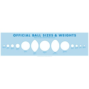 Image of Ball Size Poster