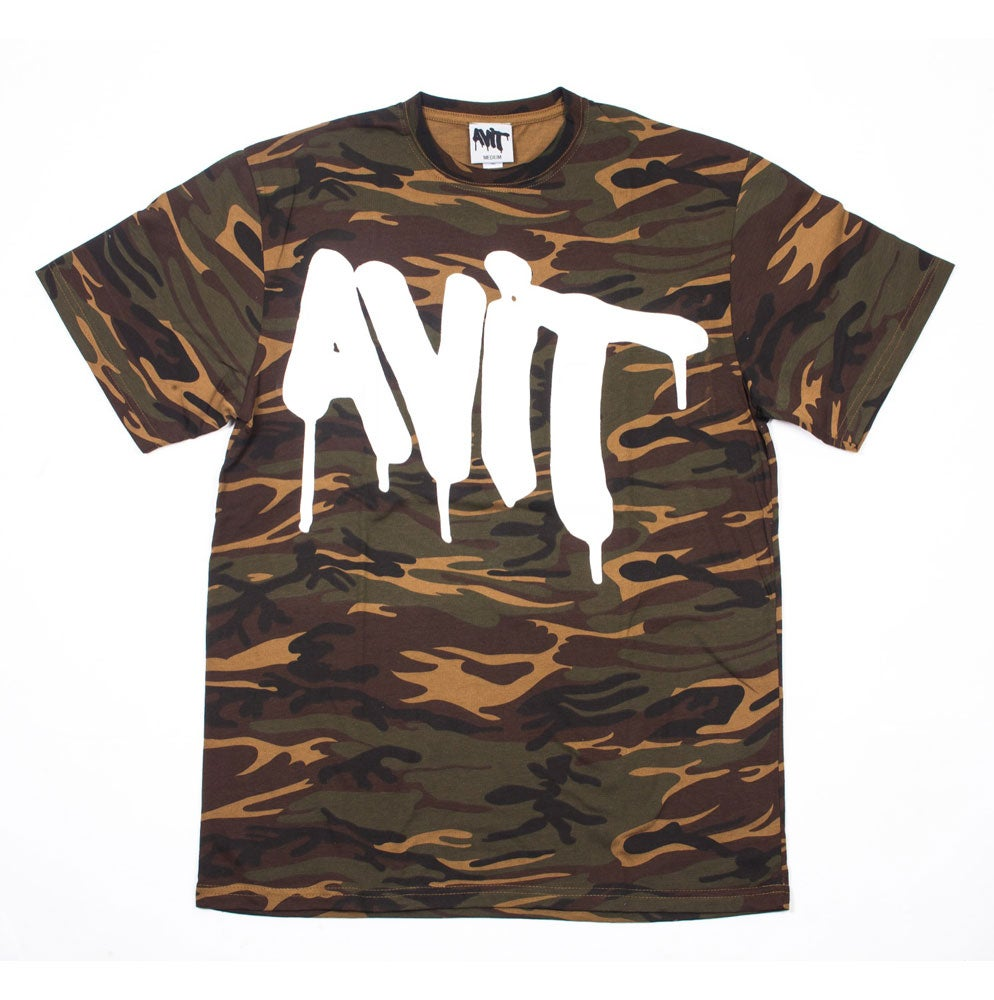 Image of AVIT TAG CAMOUFLAGE T-SHIRT