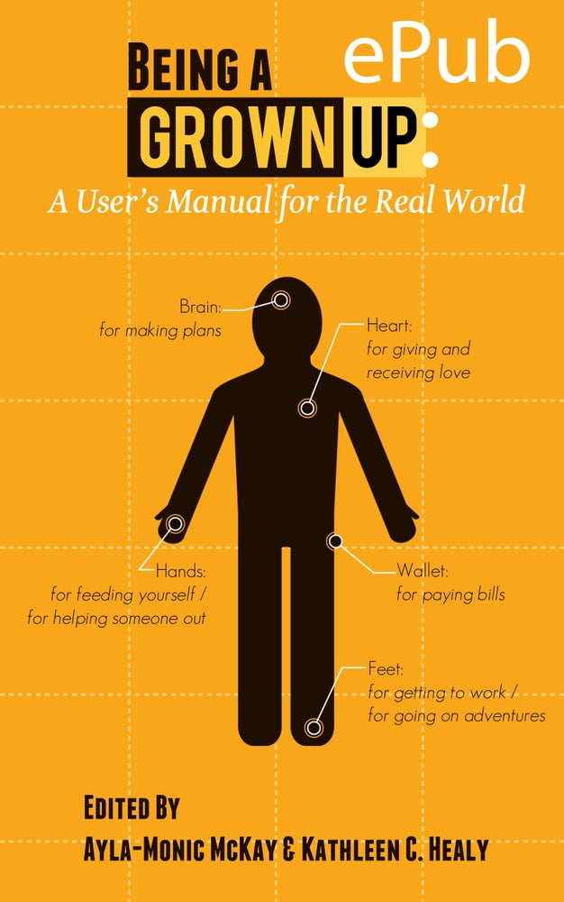 Image of Being a Grown-Up: A User's Manual for the Real World (ePub)