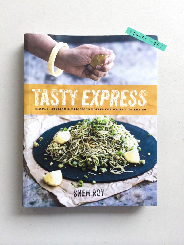 Image of Tasty Express Cookbook - Signed Copy