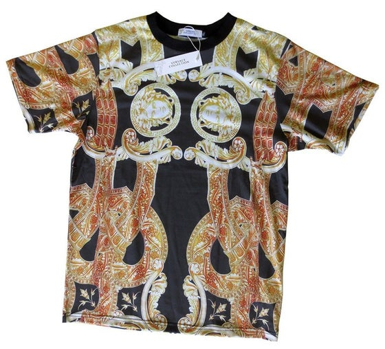 Image of Authentic Versace Baroque Medusa T-Shirt