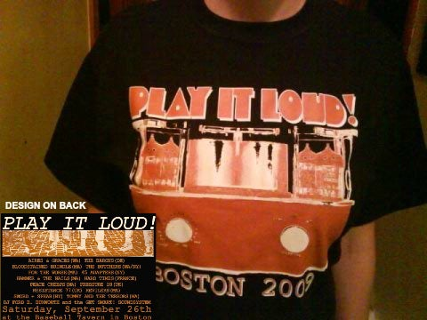 Image of NEW LOW PRICE: PLAY IT LOUD! I t-shirt (black)