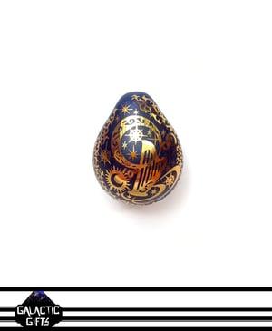 Image of Masataka Joei Celestial Harp Sacred Gold Droplet Pendant