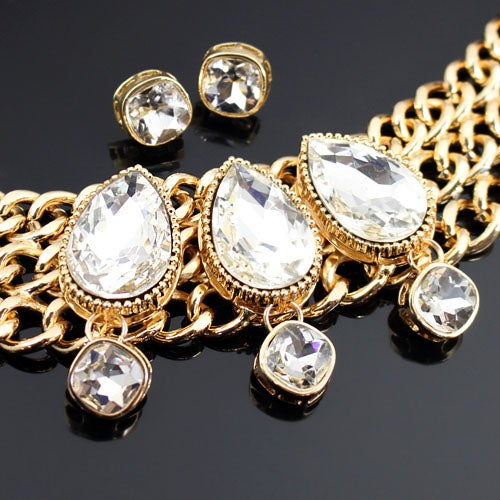 Image of Teardrop Necklace Set