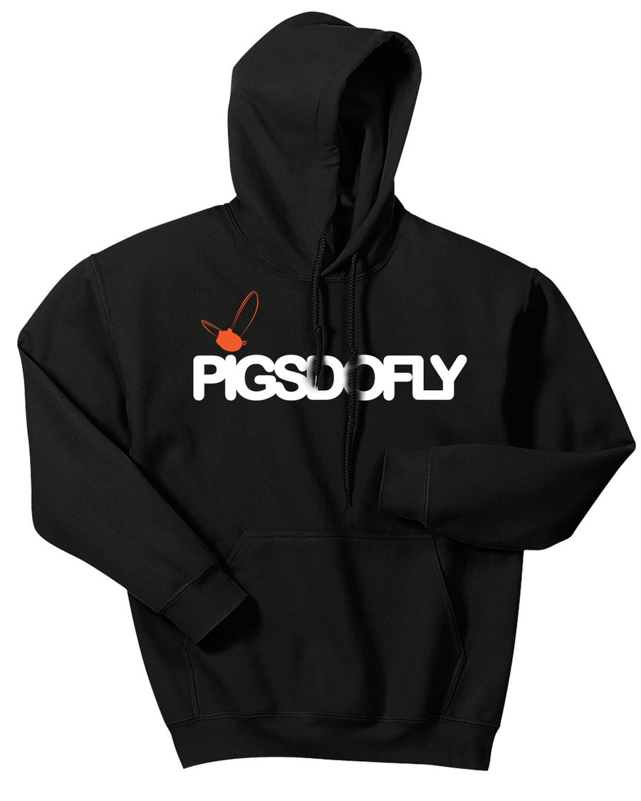 "Image of ""PIGSDOFLY GIANTS"" BLACK/HOODY"