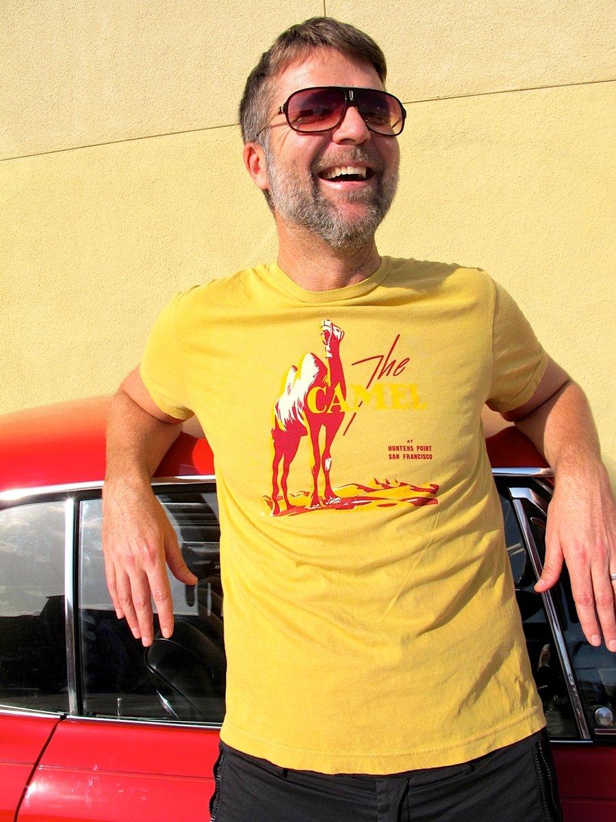 Image of The Camel Vintage T-Shirt: Unisex