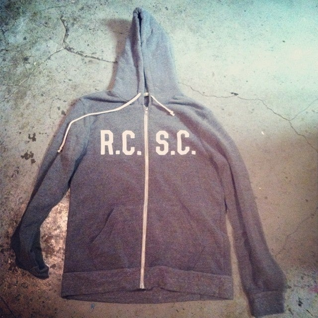 Image of R.C.S.C. Zip Up Hoodie