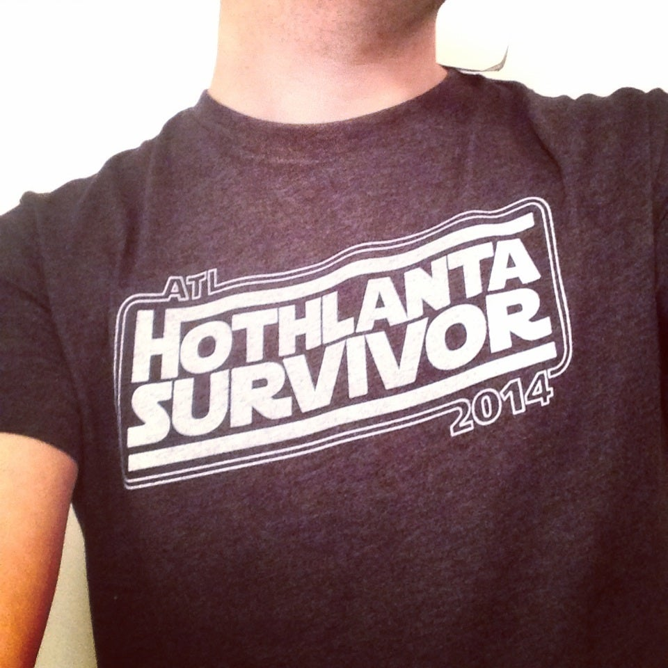 Image of Hothlanta t-shirt (charcoal)