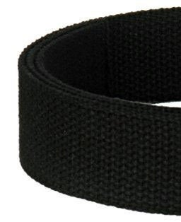 "Image of Cotton Canvas Webbing Strap - Adjustable - 1.5"" Wide - Choose Color, Length & Gold/Brushed Gold #14"