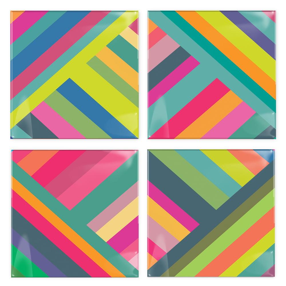 Image of Stripes Coasters
