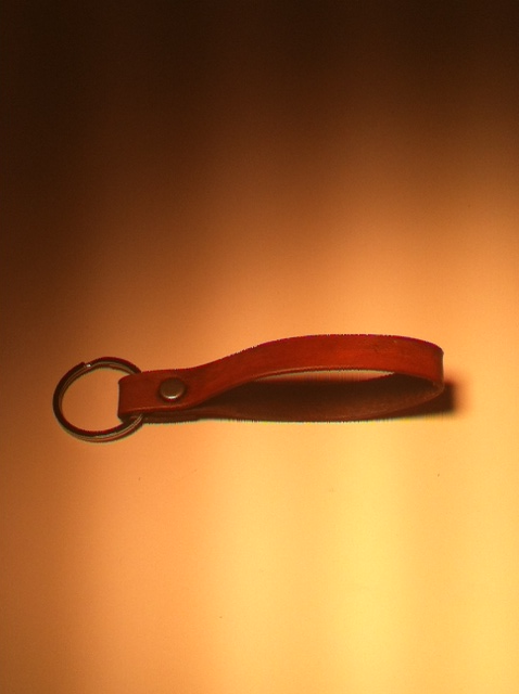 Image of Handmade Leather Key Chain