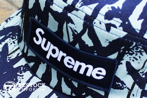 Image of Supreme - Reed Camo Camp Cap