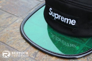 Image of Supreme – Black Angler Camp Cap
