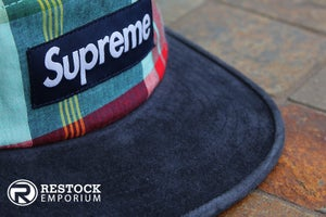 Image of Supreme - Madras Camp Cap