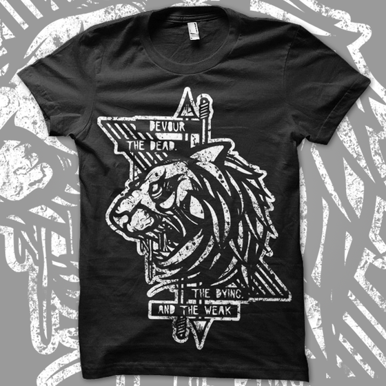 Image of DEVOUR || Black Tee