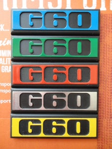 Image of Trimsport VW Golf Mk2 G60 Rear Badge