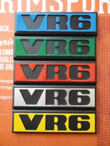 Image of Trimsport VW Golf Mk2 VR6 Rear Badge