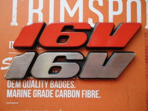 Image of Trimsport VW Corrado Golf Mk3 16V Rear Badge