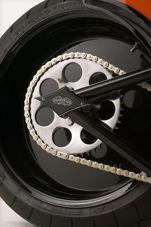 Image of SPORTSTER FRAMES- 2004 and up