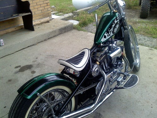 Image of SPORTSTER FLOORBOARDS- 2004 and up
