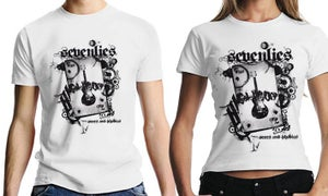 "Image of T-Shirt ""scars & phobias"" (men)"