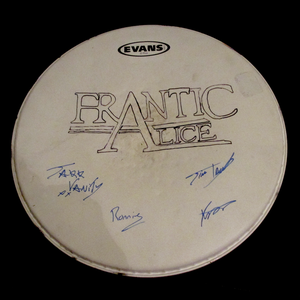 Image of Signed Drum Skin (LIMITED EDITION)