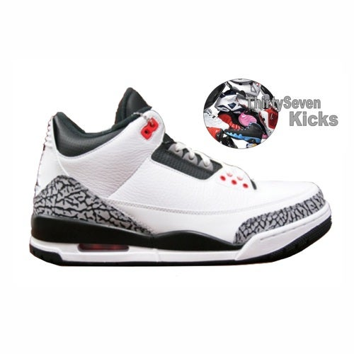 "Image of Jordan Retro 3 ""Infrared 23"""