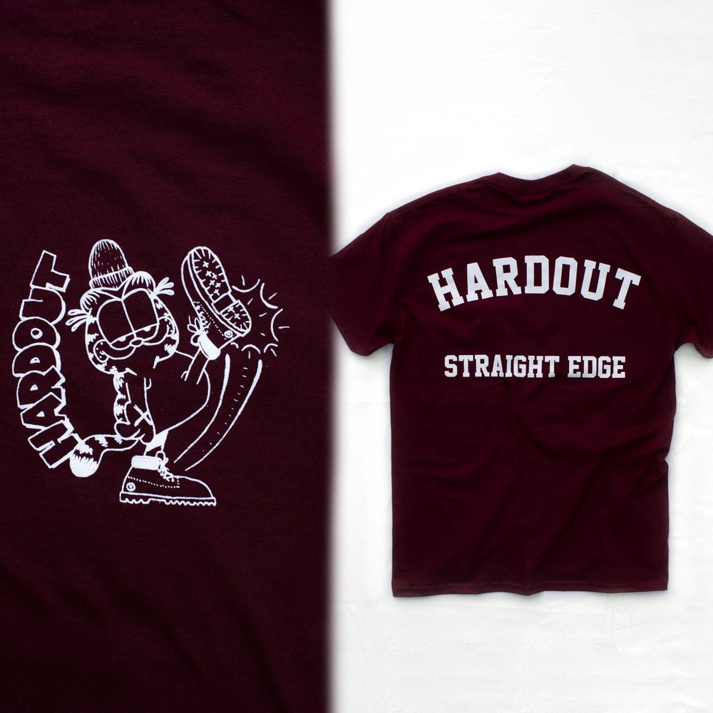 Image of Garfield tee (Maroon) SOLD OUT