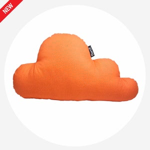Image of PILLOW CLOUD Orange Dots