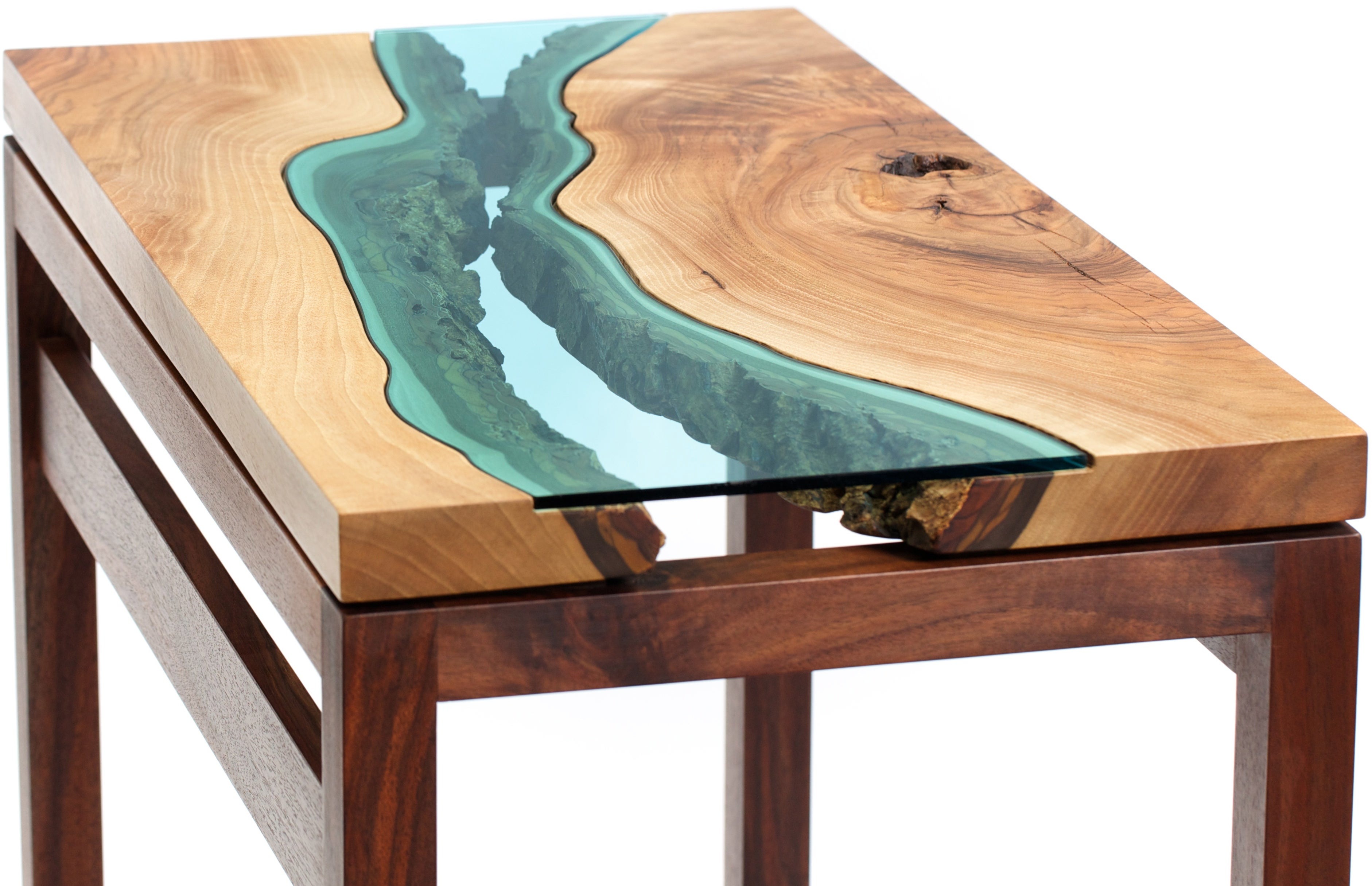 hall table furniture. Image Of Walnut River Hall Table Furniture A