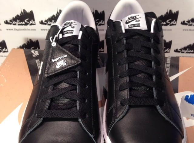 Image of Nike SB x Supreme Tennis Classic Black