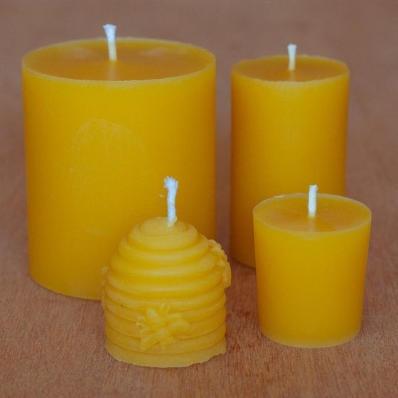 Image of Beeswax Candle Set