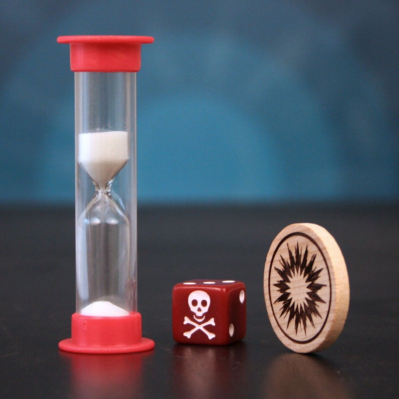 Image of Timer, Die, Fate Coin Kit