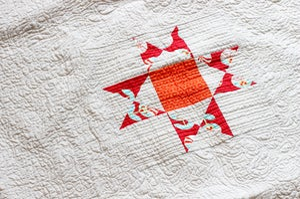 Image of Shining Stars Sampler Quilt PDF Pattern