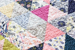 Image of Triangularity Quilt PDF Pattern