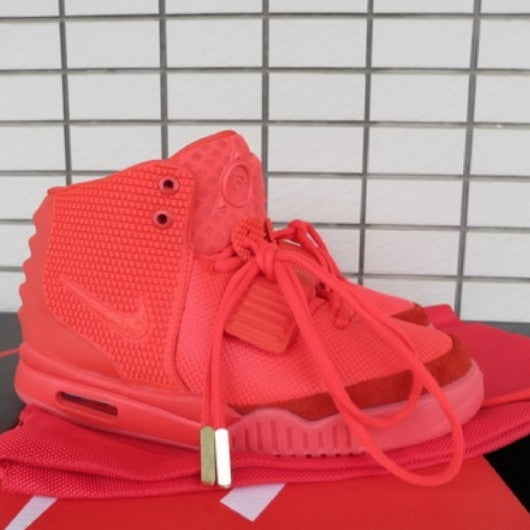 414fbf3cef5 Nike Air Yeezy 2 Red October Men Size   Red october yeezy